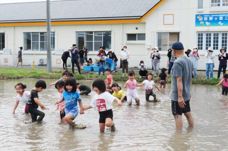 泥んこ遊び